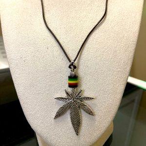 Weed Leaf Necklace